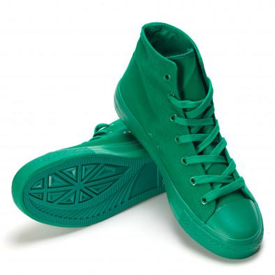 Ανδρικά πράσινα sneakers Bella Comoda it090616-32 4