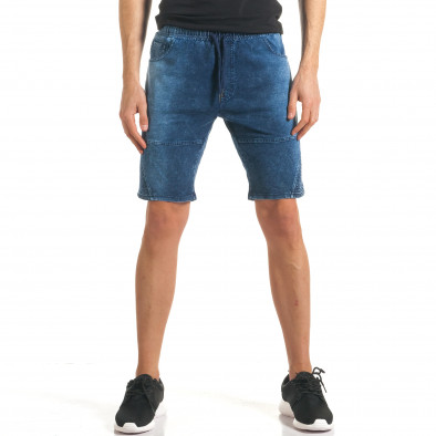 Ανδρικά γαλάζια σορτς  Flex Style it140317-109 2