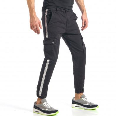 Ανδρικό μαύρο παντελόνι Always Jeans it290118-10 4