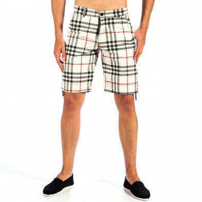 Ανδρικό πολύχρωμο βερμούδα Open Jeans il130613-1 2