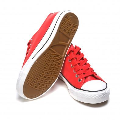 Ανδρικά κόκκινα sneakers Mondo Naturale It050216-13 4