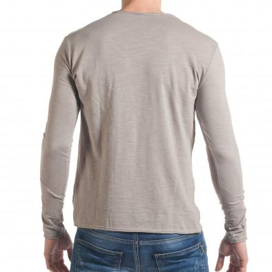 Ανδρική γκρι μπλούζα Y-Two it030217-23 3