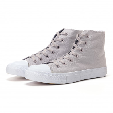 Ανδρικά γκρι sneakers Bella Comoda it250118-6 2