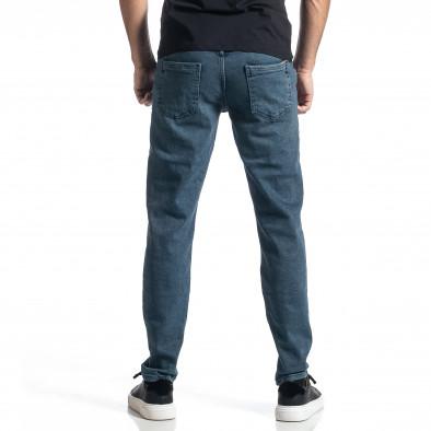 Ανδρικό μπλε τζιν Long Slim tr010221-31 3