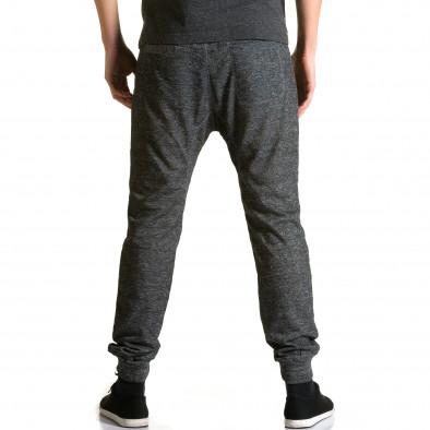 Ανδρικό γκρι παντελόνι jogger Dress & GO ca190116-29 3