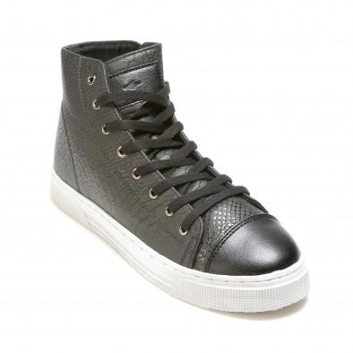 Ανδρικά μαύρα sneakers Niadi it100915-5 3