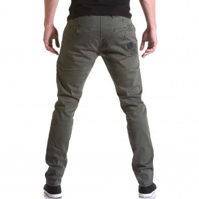 Ανδρικό πράσινο παντελόνι Y-Two it031215-17 3