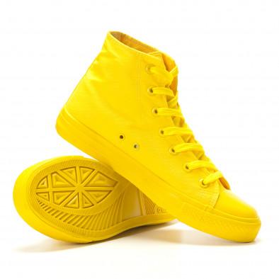 Ανδρικά κίτρινα sneakers Bella Comoda it260117-36 4