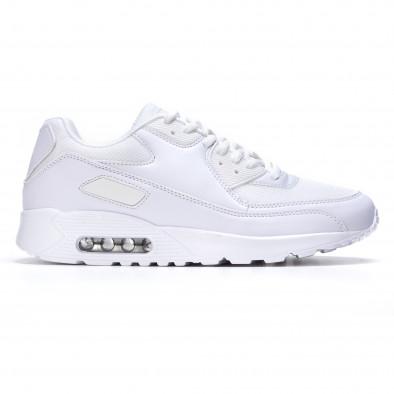 Ανδρικά λευκά αθλητικά παπούτσια Fast Lee It050216-5 2