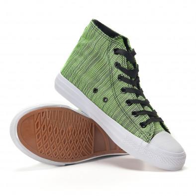 Ανδρικά πράσινα sneakers Mondo Naturale it250118-15 4