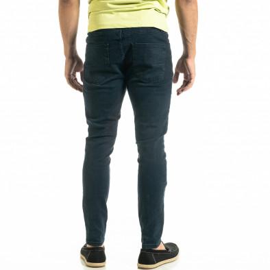 Ανδρικό μπλε τζιν Basic Slim fit tr020920-10 4