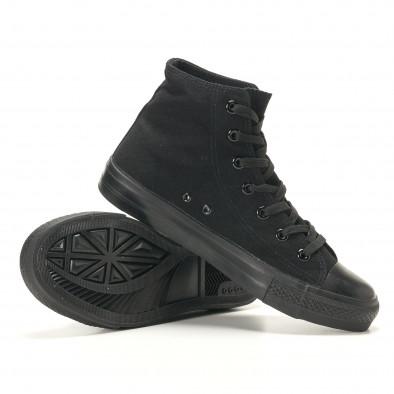 Ανδρικά μαύρα sneakers Bella Comoda it260117-46 4