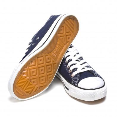 Ανδρικά γαλάζια sneakers Dilen Dilen 5