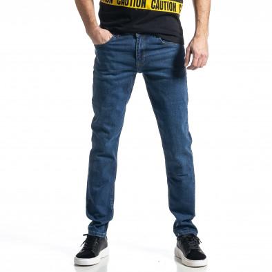 Ανδρικό μπλε τζιν Long Slim tr010221-32 2