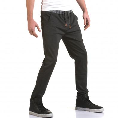 Ανδρικό γκρι παντελόνι Jack Berry it090216-31 4
