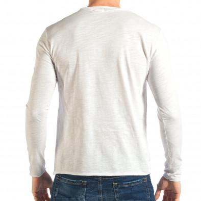 Ανδρική λευκή μπλούζα Y-Two it301017-96 3