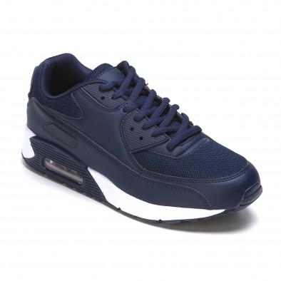 Ανδρικά γαλάζια αθλητικά παπούτσια Fast Lee It050216-6 3