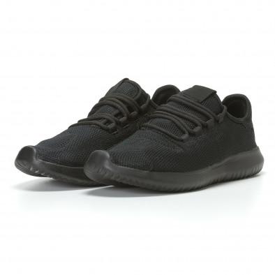 Ανδρικά μαύρα αθλητικά παπούτσια Kiss GoGo it110817-70 3
