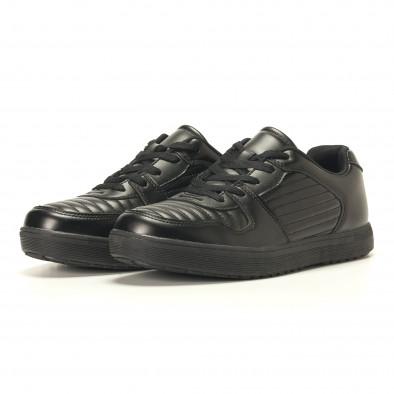 Ανδρικά μαύρα sneakers Flair it020617-7 4