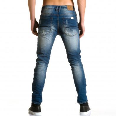 Ανδρικό γαλάζιο τζιν Justing ca190116-7 3