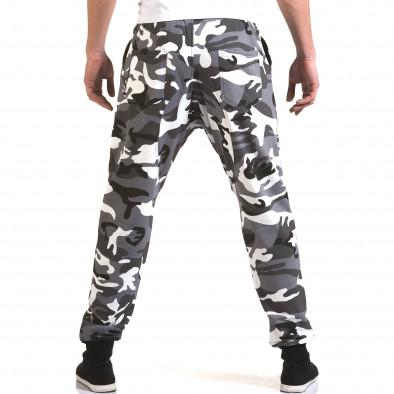 Ανδρικό γκρι παντελόνι jogger Maximal it090216-60 3