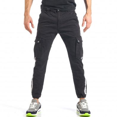 Ανδρικό μαύρο παντελόνι Always Jeans it290118-10 2