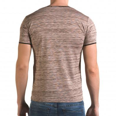 Ανδρική ροζ κοντομάνικη μπλούζα Lagos il120216-37 3