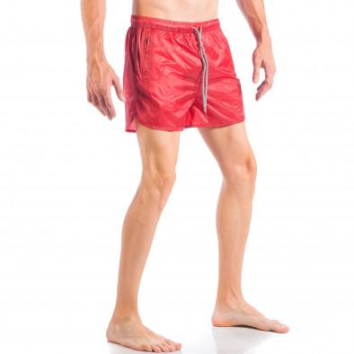 Ανδρικό κόκκινο μαγιό απλό μοντέλο it050618-66 3