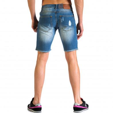 Ανδρικό γαλάζιο τζιν βερμούδα Always Jeans ca030414-2 3