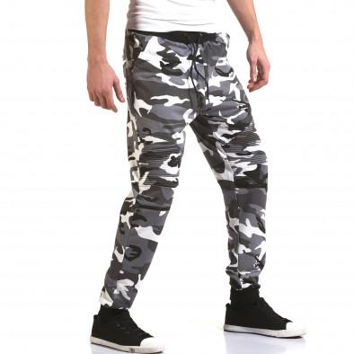 Ανδρικό γκρι παντελόνι jogger Maximal it090216-60 4