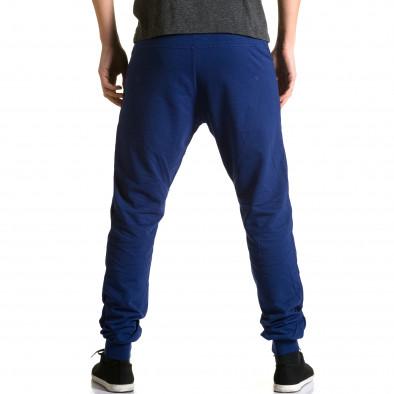 Ανδρικό γαλάζιο παντελόνι jogger DelPiero ca190116-26 3