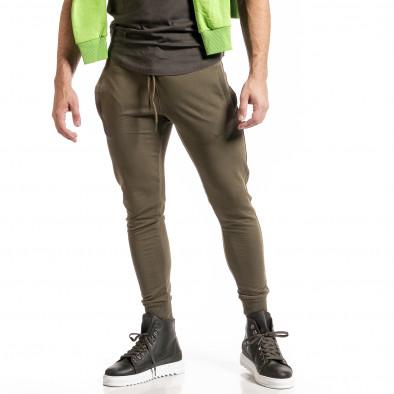 Ανδρική πράσινη φόρμα Breezy it261120-5 2