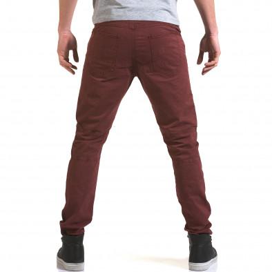 Ανδρικό κόκκινο παντελόνι Maximal it090216-9 3