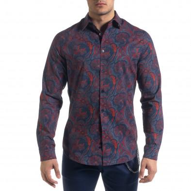 Ανδρικό πολύχρωμο πουκάμισο Open tr110320-98 2