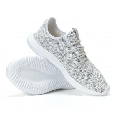 Ανδρικά γκρι αθλητικά παπούτσια Kiss GoGo it110817-71 4