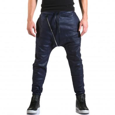Ανδρικό γαλάζιο παντελόνι jogger Top Star it211015-59 2