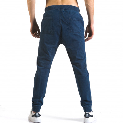 Ανδρικό γαλάζιο παντελόνι jogger Enos it090216-57 3