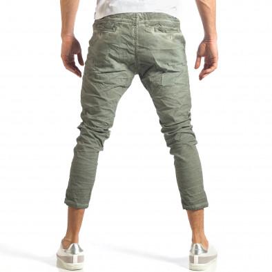 Ανδρικό πράσινο παντελόνι Y-Two it290118-3 4
