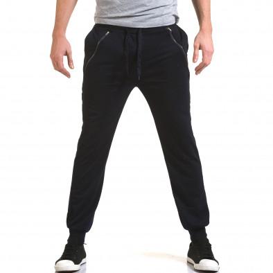 Ανδρικό γαλάζιο παντελόνι jogger Eadae Wear it090216-54 2