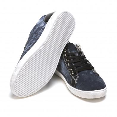Ανδρικά γαλάζια sneakers Flair It050216-17 4