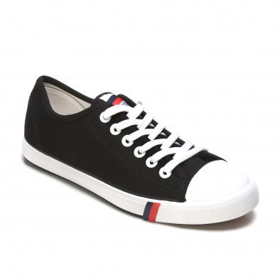 Ανδρικά μαύρα sneakers Max&Li it210415-15 3