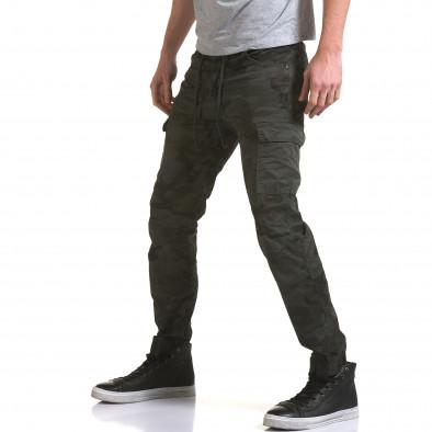 Ανδρικό γκρι παντελόνι Yes Design it090216-12 4