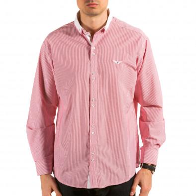 Ανδρικό κόκκινο πουκάμισο Royal Kaporal il180215-178 3
