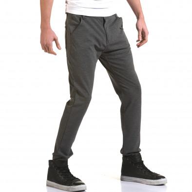 Ανδρικό γκρι παντελόνι Jack Berry it090216-1 4