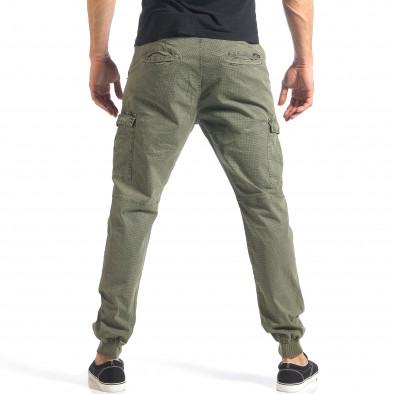 Ανδρικό πράσινο παντελόνι XZX-Star it290118-26 4