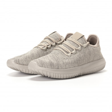 Ανδρικά γκρι αθλητικά παπούτσια Kiss GoGo it250118-8 3