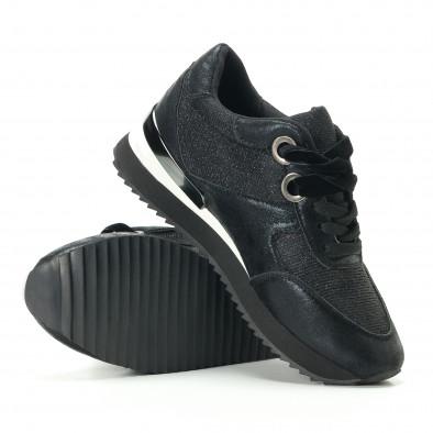 Γυναικεία μαύρα αθλητικά παπούτσια Melissa it200917-24 4