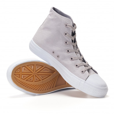 Ανδρικά γκρι sneakers Bella Comoda it250118-6 4