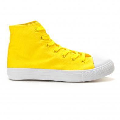 Ανδρικά κίτρινα sneakers Bella Comoda it260117-51 3