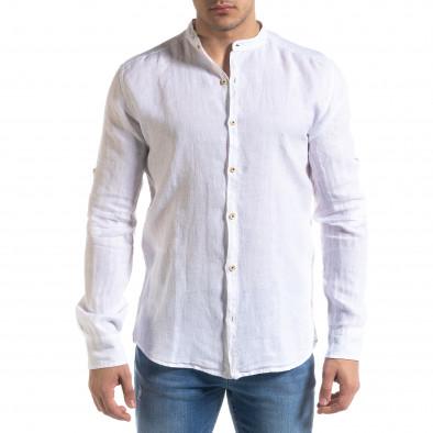 Ανδρικό λευκό πουκάμισο RNT23 tr110320-90 3